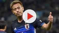 Botafogo anuncia a contratação do japonês Honda