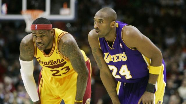 LeBron James makes an emotional Instagram post after Kobe Bryant's death
