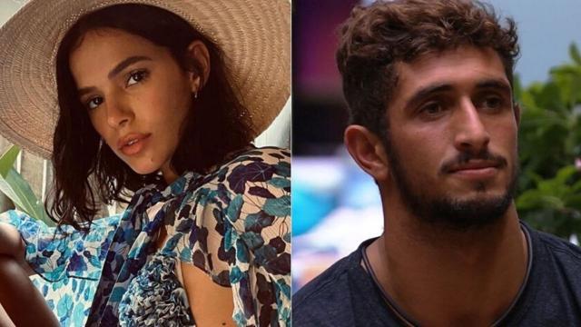 Bruna Marquezine torce para que Lucas Chumbo seja eliminado do 'BBB20': 'menos um tóxico'