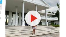 Gustavo Lima posta foto de sua casa e luxuria chama a atenção de fãs