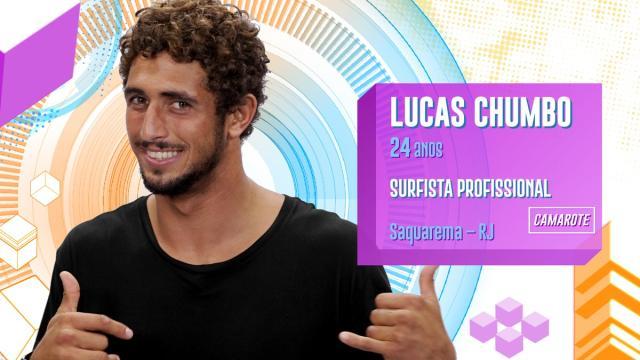 Lucas Chumbo foi o primeiro eliminado do BBB20