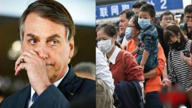 Bolsonaro diz que Brasil não irá resgatar família com coronavírus na Ásia