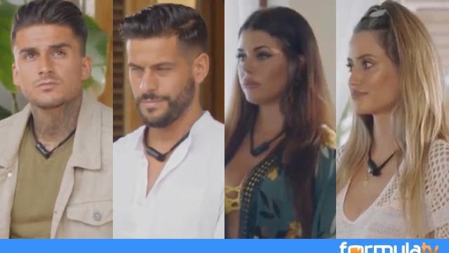 Dani, Julián, Casandra y Nerea, nuevos solteros expulsados de la isla de las tentaciones