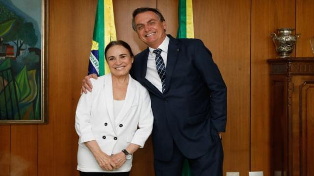 Regina Duarte apaga post no Instagram mais uma vez após críticas de Maitê e Luiz Fernando