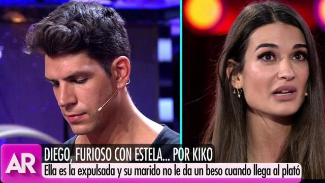 A pesar de la amistad de Estela y Kiko, ella y Diego Matamoros seguirán juntos