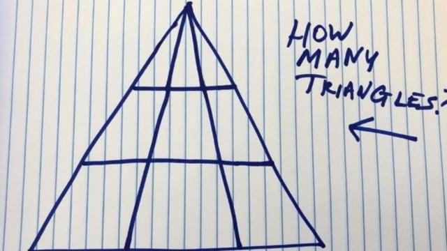 El gran reto matemático de los triángulos que se ha vuelto viral