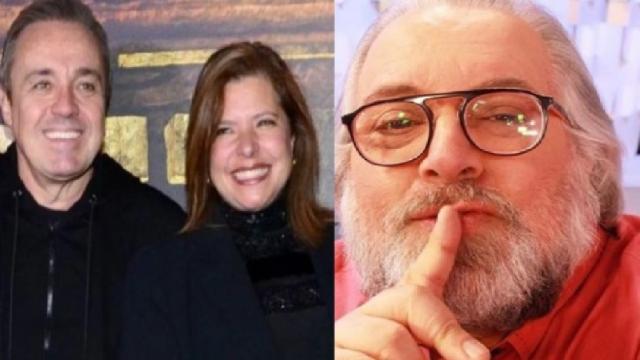 Viúva de Gugu Liberato processa Leão Lobo e pede R$ 50 mil por danos morais