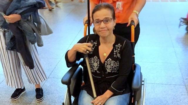 Cláudia Rodrigues continua internada e não tem previsão de alta