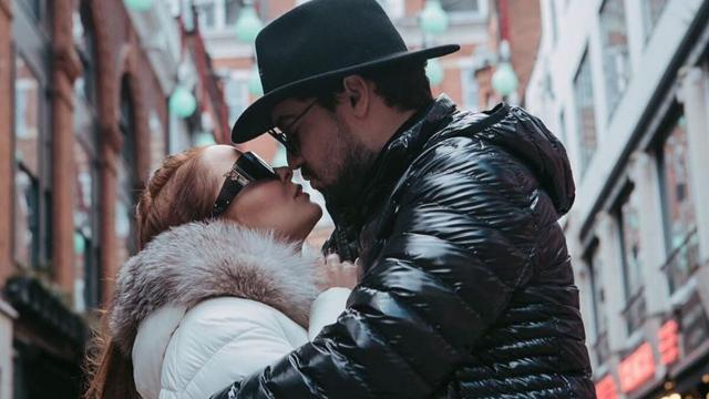 Maiara e Fernando celebram em Londres 9 meses de namoro