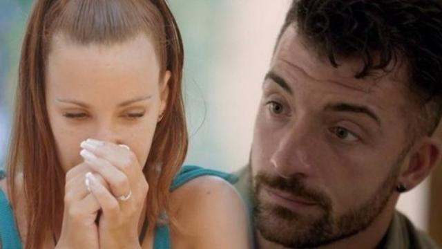 Tras romper con Christofer, Fani ve como Rubén se aleja de ella