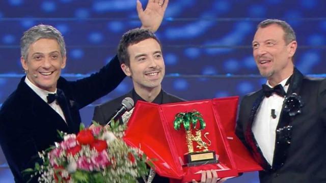 Diodato vince Sanremo e ammette: 'La mia canzone è dedicata anche a Levante'