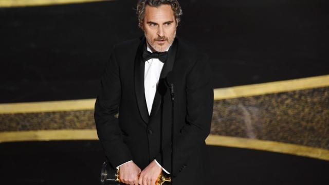 Joaquin Phoenix faz discurso no Oscar 2020 e pede compaixão