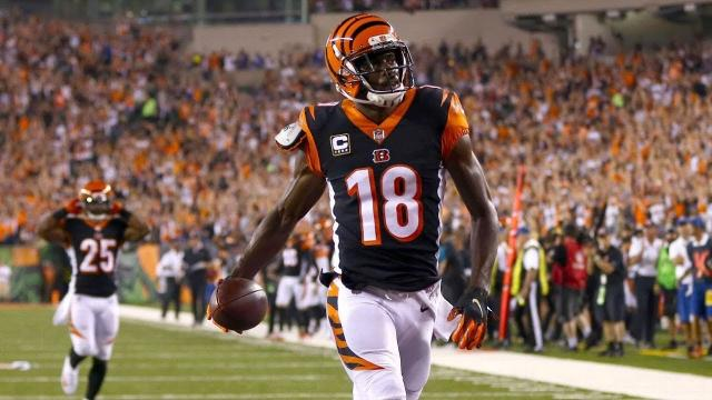 NFL analyst Nate Burleson claims the Patriots will make a move on A.J. Green