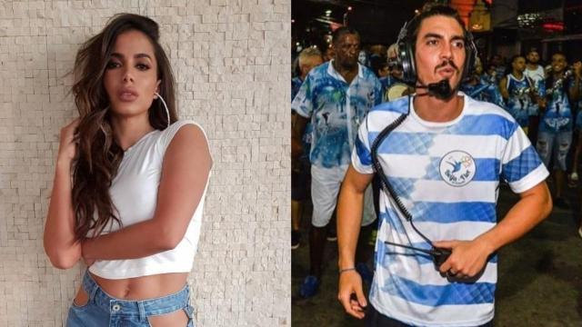 Anitta vive romance com Gabriel David, filho do presidente da Beija-Flor, aponta colunista
