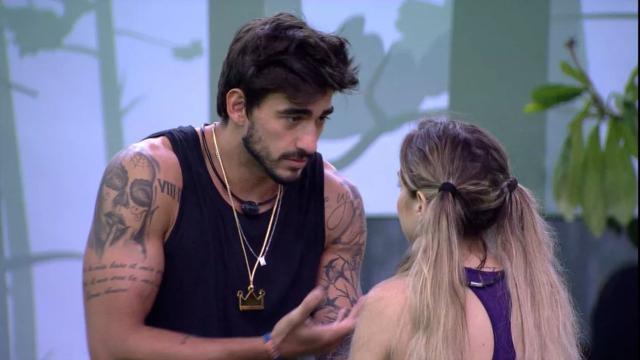 'BBB20': Gabi e Guilherme celebram uma semana de relacionamento