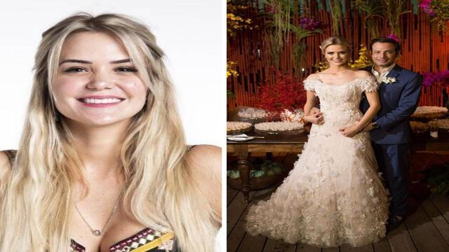 'BBB20': Marcela Mc Gowan já foi casada com empresário e cerimônia foi de luxo