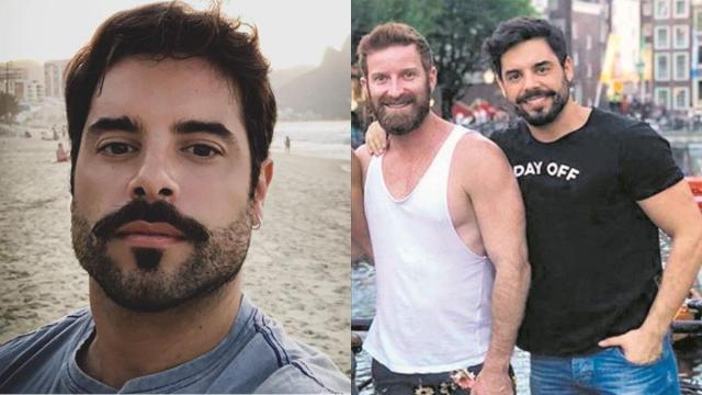Pedro Carvalho curte férias românticas com marido em Orlando