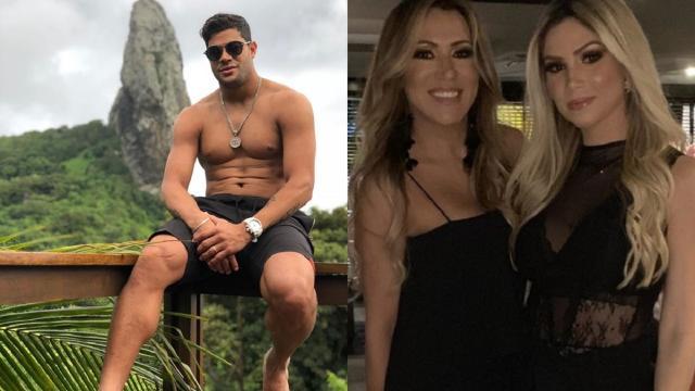 Irmã de Hulk elogia seu novo namoro com sobrinha da ex-mulher: 'chegou para trazer paz'