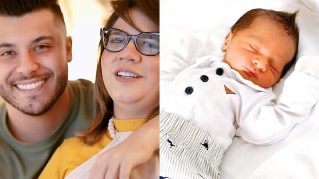 Marília Mendonça comemora 2 meses do filho, Léo: