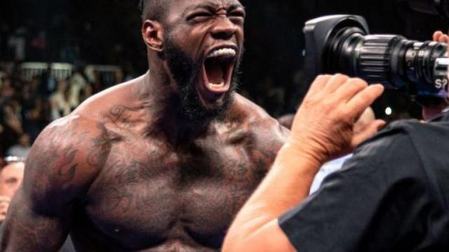 Deontay Wilder avvisa Tyson Fury: 'Indossa un casco, ne avrai bisogno'