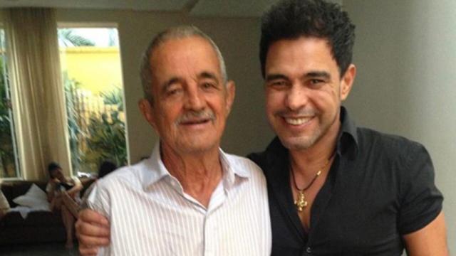 Zezé de Camargo fala sobre a saúde do pai e diz que eles mantiveram segredo