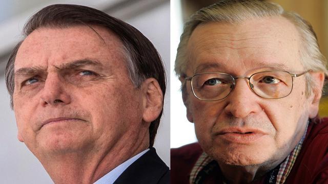 Olavo de Carvalho diz não se importar para o governo Bolsonaro