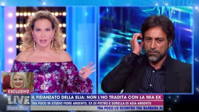 Barbara D'Urso si scaglia contro Pietro, fidanzato di Antonella Elia