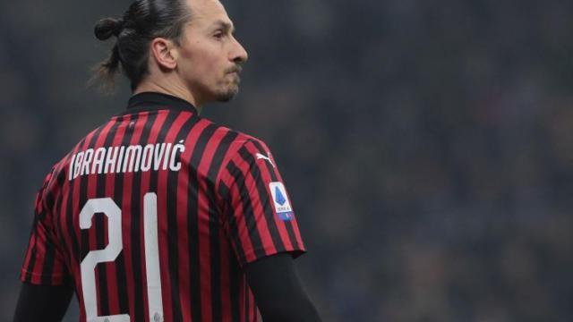 Milan, Zlatan Ibrahimovic percorre in campo gli stessi km di Castillejo