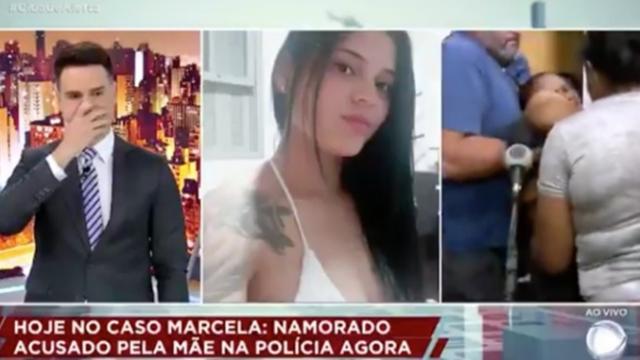 Mãe recebe notícia da morte da filha e desmaia ao vivo durante programa 'Cidade Alerta'