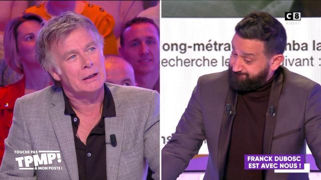 TPMP : Cyril Hanouna a joué les cupidons pour Franck Dubosc : 'Tu nous as porté bonheur'