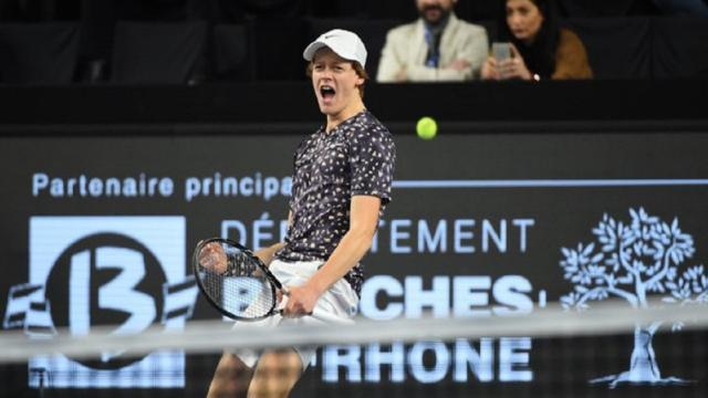 Open 13 Marsiglia, Sinner eliminato da Medvedev in tre set