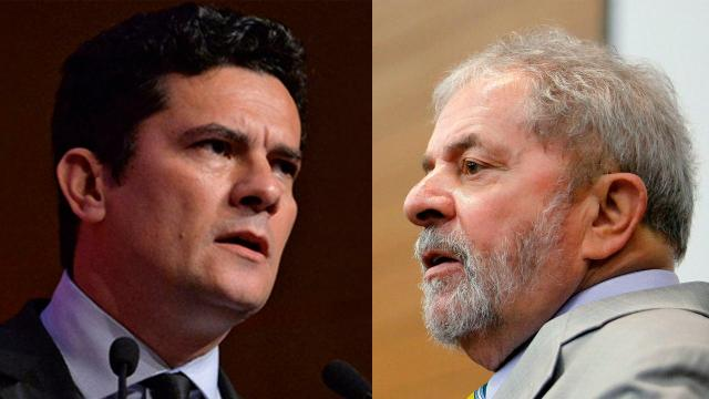 Ex-presidente 'Lula' dá depoimento após Sérgio Moro pedir abertura de inquérito