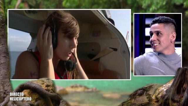 'Supervivientes 2020': Fani sufre un ataque de ansiedad antes de lanzarse del helicóptero