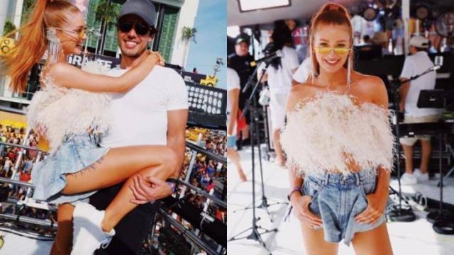 Marina Rui Barbosa curte o Carnaval de Salvador e rebate críticas nas redes sociais