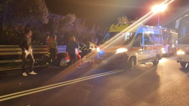 Incidente stradale mortale ad Olbia: nell'impatto tra 2 veicoli muore un uomo di 38 anni