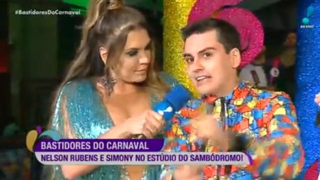 Apresentador Dudu Camargo é acusado de assediar a cantora Simony