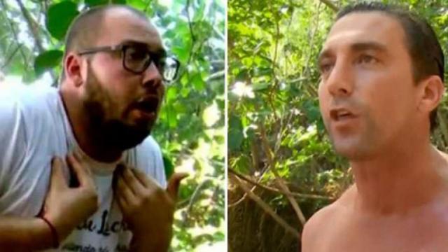 Comportamiento homofóbico de Antonio Pavon contra Jose Antonio Avilés en Supervivientes