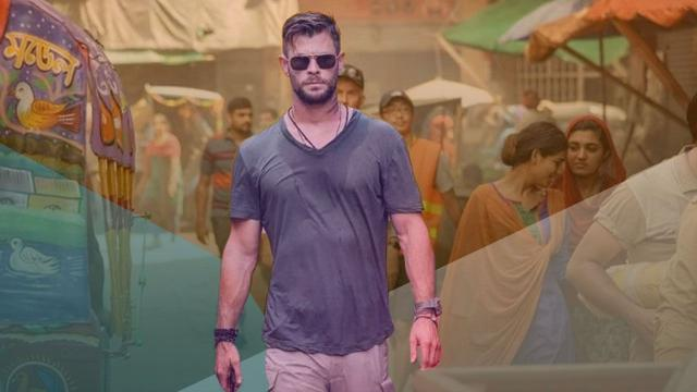 filme de ação que estreará na Netflix, 'Resgate', tem como protagonista Chris Hemsworth