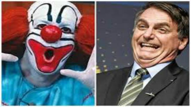 Bolsonaro divulga vídeo onde o palhaço Bozo o apoia