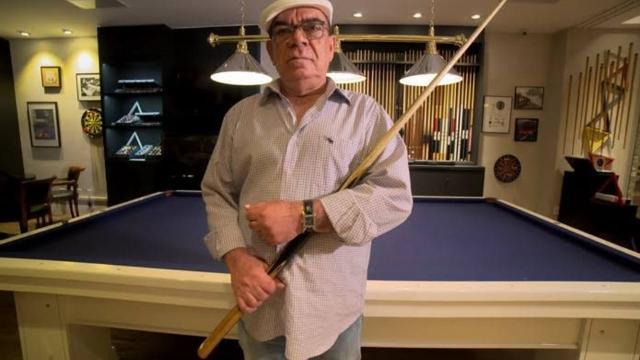 Rui Chapéu, jogador de bilhar morre aos 79 anos.
