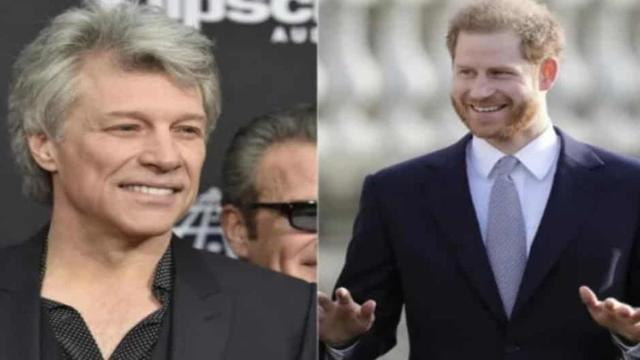El príncipe Harry graba con Jon Bon Jovi una canción titulada 'Unbroken'