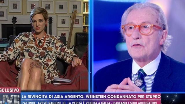 Vittorio Feltri: 'La d'Urso mi ha teso un agguato per santificare Asia'