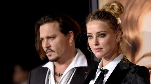 Site monta uma linha do tempo para explicar relacionamento de Amber Heard e Johnny Depp