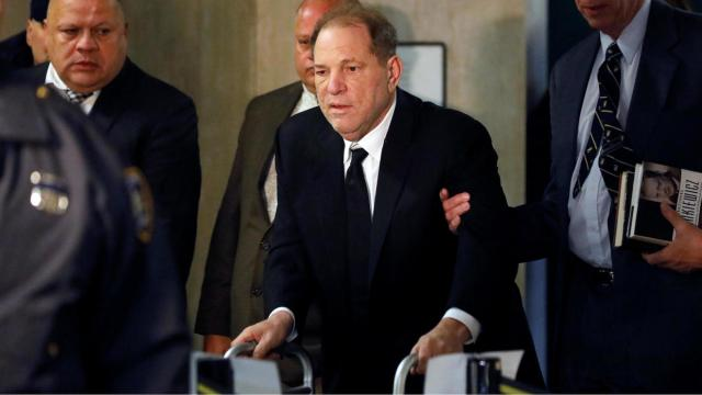 Harvey Weinstein ingresa en el hospital por una taquicardia tras ser condenado