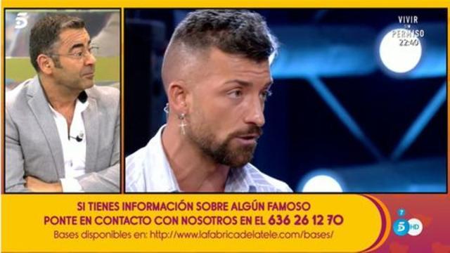 Jorge Javier Vázquez se acostaría con Rubén, pero solo una vez