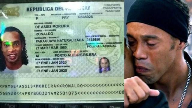 Ronaldinho Gaúcho é detido no Paraguai após apresentar documentação falsa