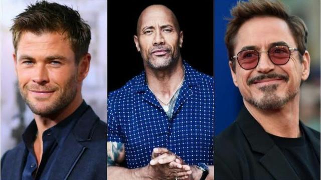 Os atores mais bem pagos de Hollywood em 2019