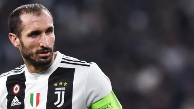 Juventus, Chiellini è tornato in gruppo: è a disposizione per la sfida contro l'Inter