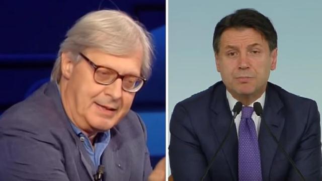 Stasera Italia, Vittorio Sgarbi esprime la sua preferenza sul nuovo Premier con Draghi