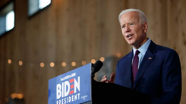 Joe Biden leads the Democratic Party race to take on Donald Trump
